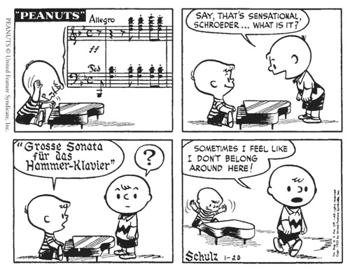 Beethoven and Peanuts (1/2)