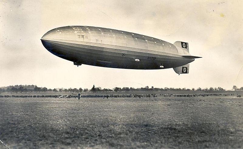 Voo por hidrogênio? Hindenburg