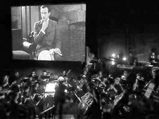 [ add: picture: silent films with live music ]
