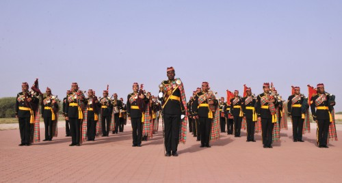 Oman royal bagpipes