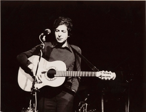 Leonard Cohen 1960s