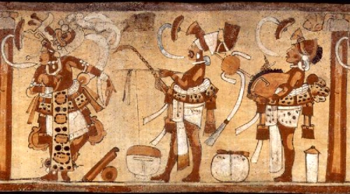 mayan jaguar drum