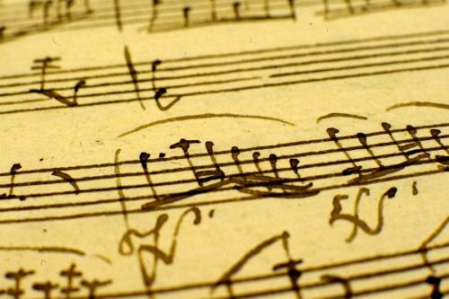 Kutatók éjszakája - Mozart-szonáta kéziratának egy töred