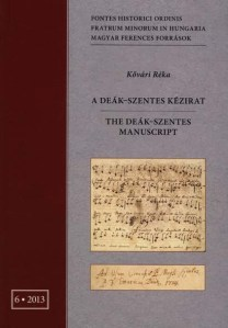 A Deák-Szentes kézirat