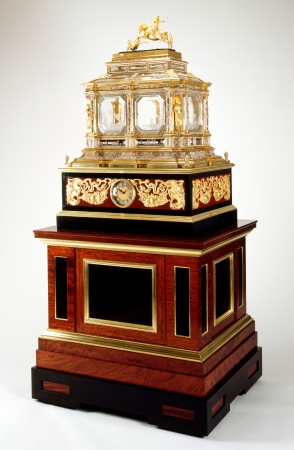 Charles Clay musical clock