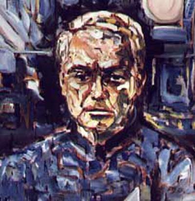 Fischer-Dieskau self portrait 1985