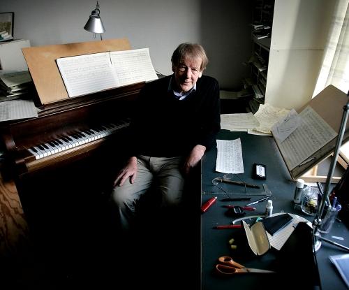 Komponist Per Nørgård.