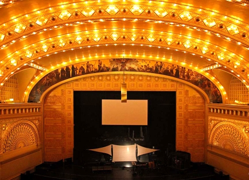 Holloway proscenium frieze