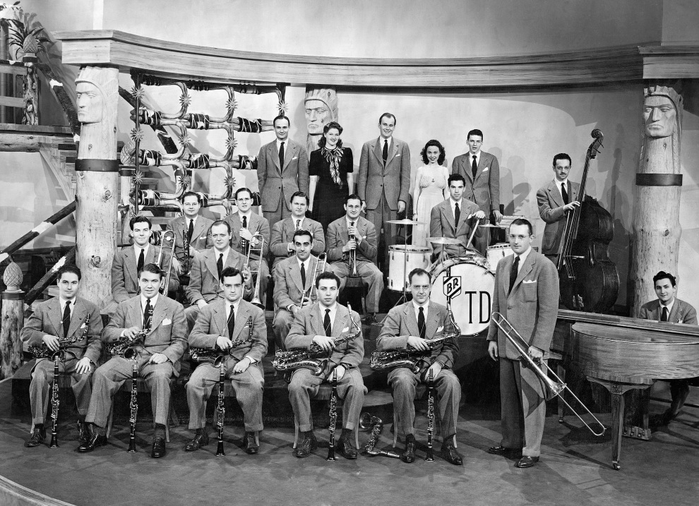 Tommy Dorsey's Band in Las Vegas Nights