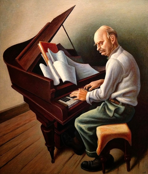 Carl Ruggles (Thomas Hart Benton 1934)