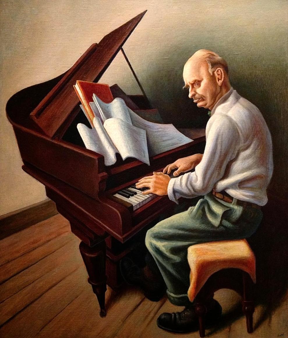 Carl Ruggles (Thomas Hart Benton 1934)