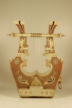 Lyre of Piero Parravacini