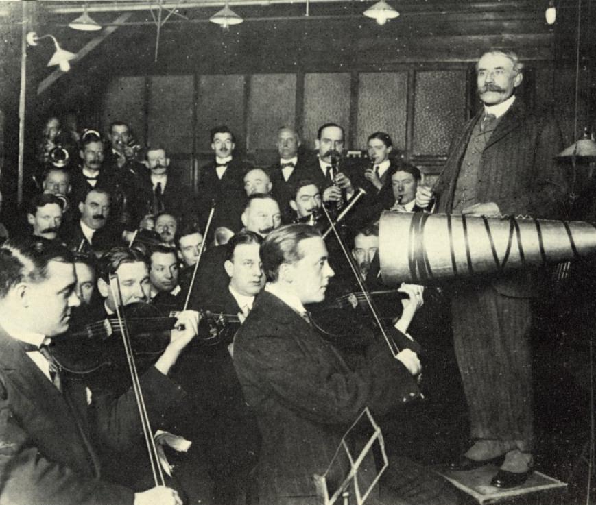 Elgar gramophone