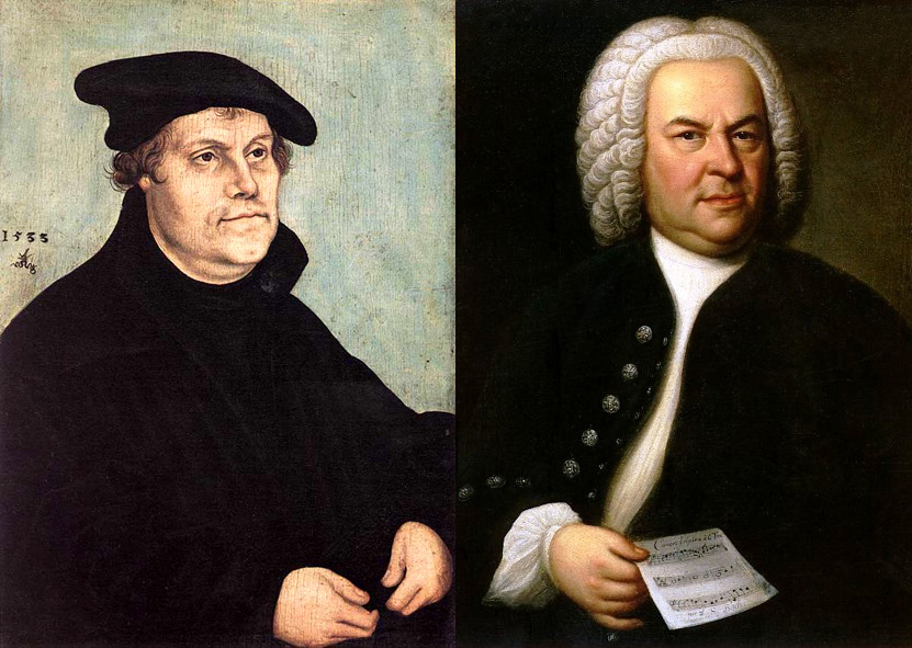 luther and bach bibliolore